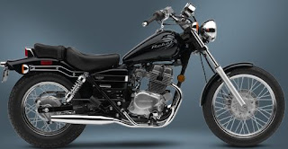 2009 Honda Rebel 250 Black color