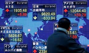 Asian shares, euro