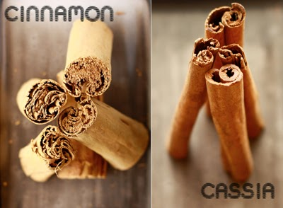 Cinnamon and Cassia are not obtained from the same plant.