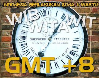 Indonesia Satu Zona Waktu.
