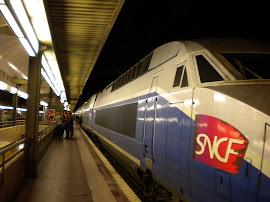 TGV - Estação de Lyon França