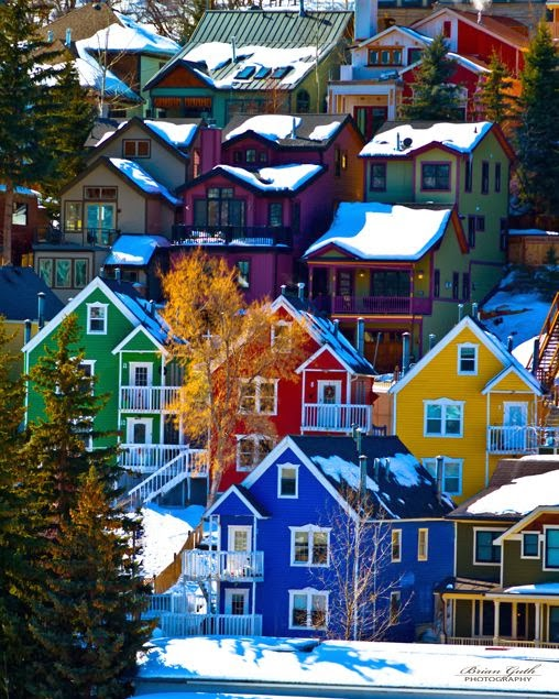 Places To Live Salt Lake City: List Of Pictures: The Colorful Houses Of Park City Utah