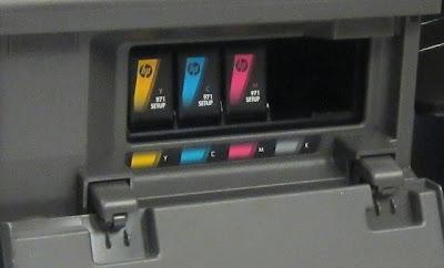 cartuchos de tinta impresoras hp 971 puestos en impresoras