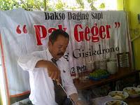 Pak Geger dan Bakso