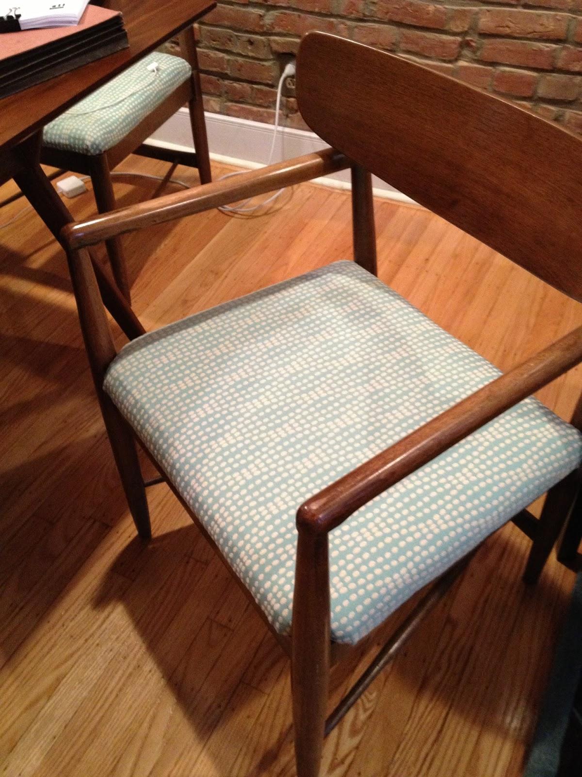 1970 Dogwood Street Dining Chair Fabric Transformation : erinchairafter from 1970dogwoodst.blogspot.com size 1200 x 1600 jpeg 355kB