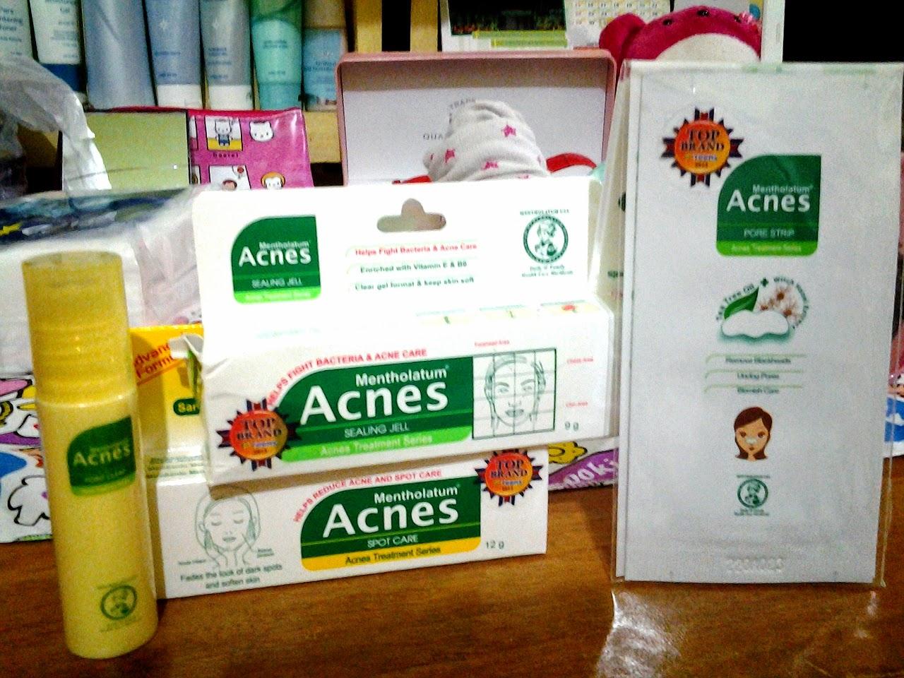 An Najm Review Produk Skincare Acnes Spot Care Obat Jerawat Treatment Series Dan Akhirnya Gue Beli Skin Wardah Acne Cleansing Gel Gentle Scrub Pore Tightening Toner Moisturizer Selama Pemakaian