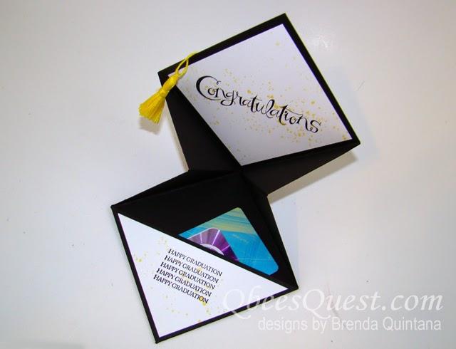 Graduation Cap Gift Card Holder