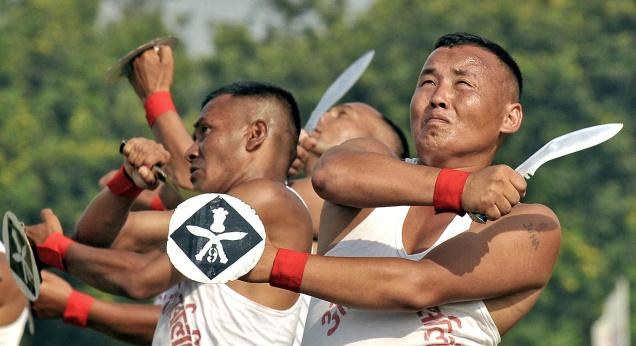 Gorkhas performed khukuri dance in Indo-Pak War golden jubilee