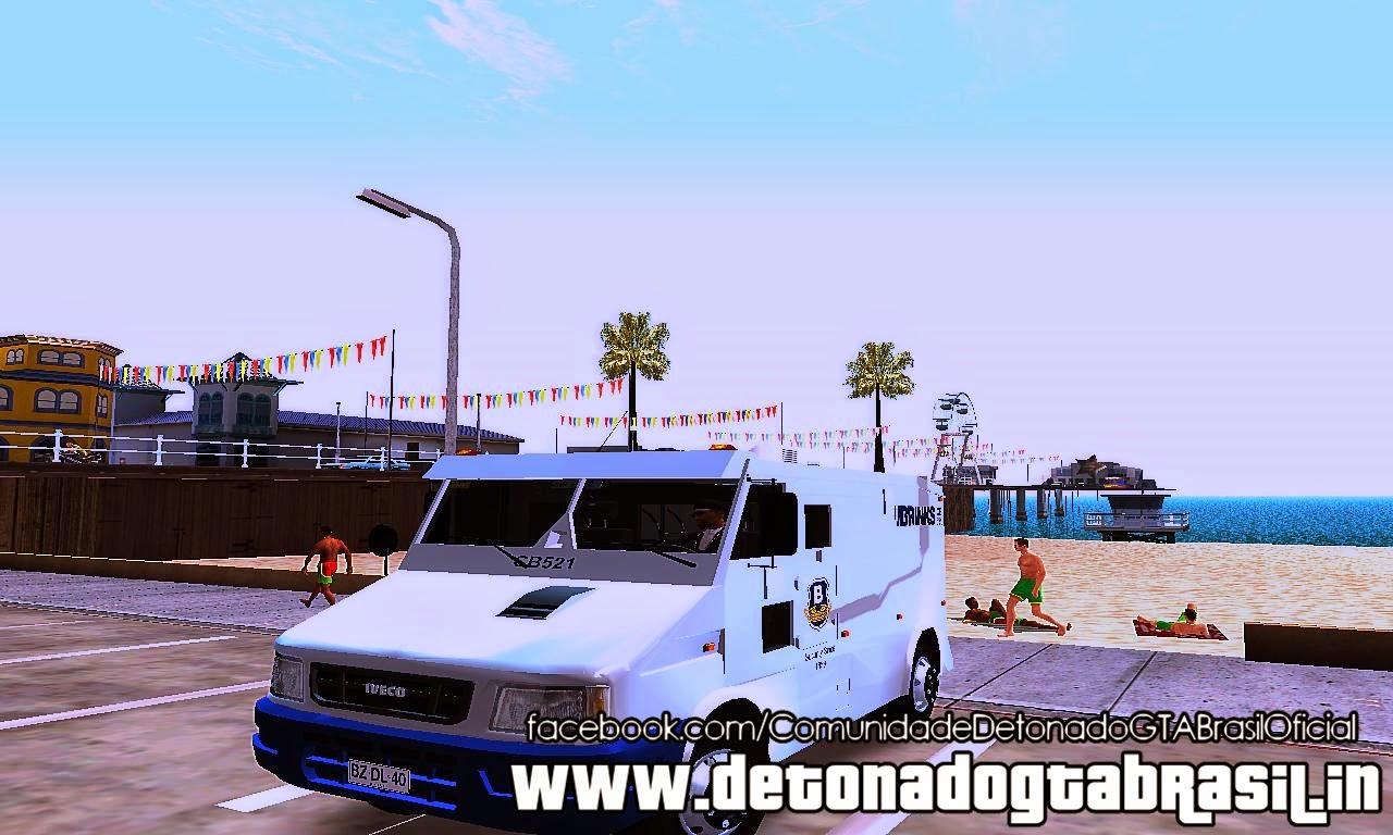 GTA SA - Iveco Daily Brinks