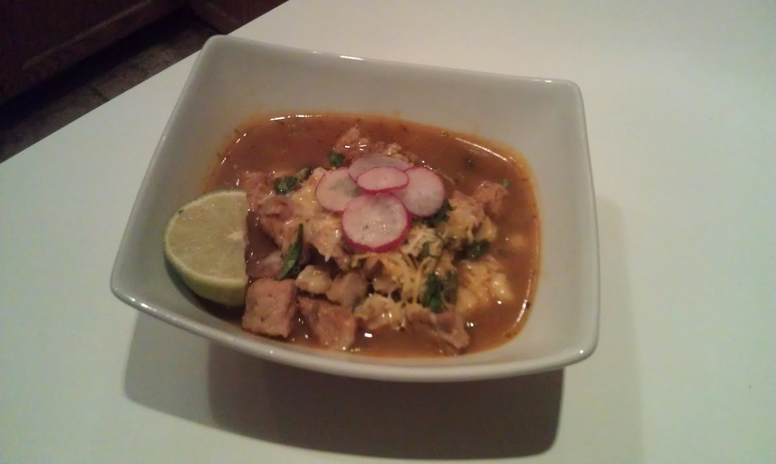 You Eat Like That Every Day?: Posole-Pork and Hominy Stew