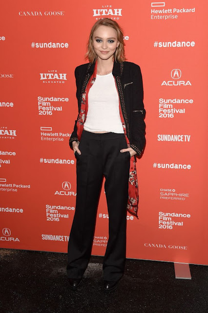 Lily Rose Depp, best dressed at Sundance 2016
