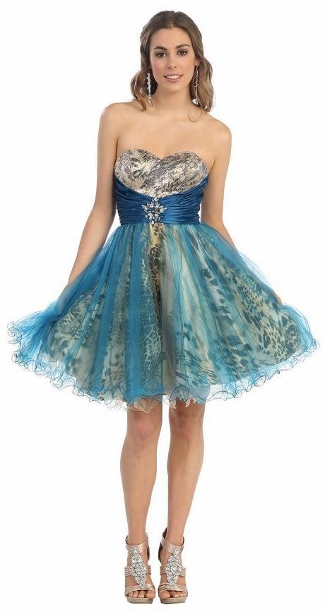 Short Dresses for Sweet 15