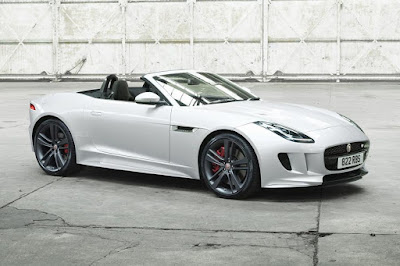 Jaguar F-Type British Design Edition Convertible (2017) Front Side