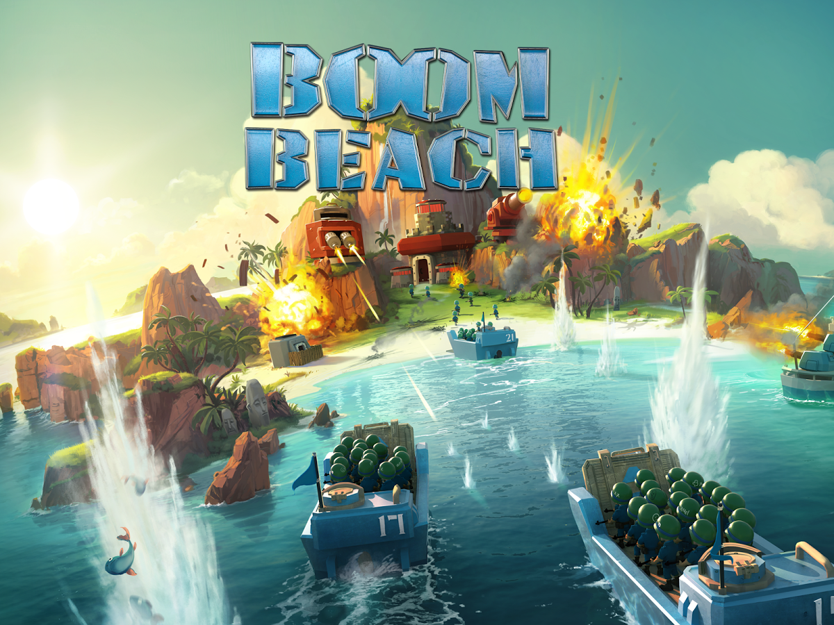 Boom Beach Apk+Data Obb For Android Games