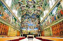 CAPELA SISTINA - Tour virtual - 360 graus