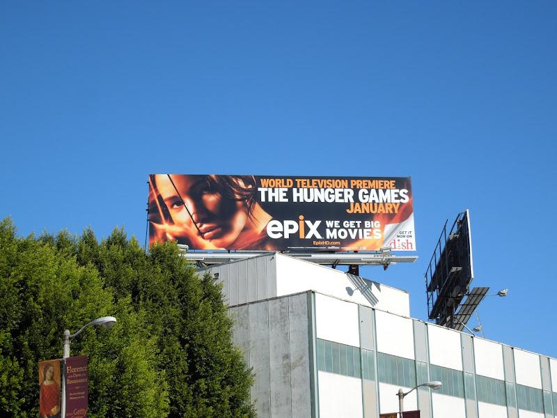Hunger Games Epix billboard