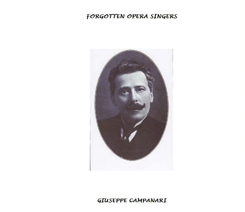 GIUSEPPE CAMPANARI (1855 - 1927) CD