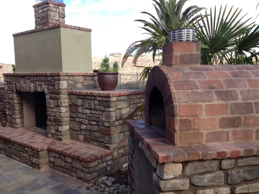 the ball family wood fired pizza oven fireplace combo brickwood