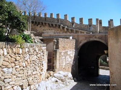 Entrada Castillo Capdepera, Mallorca
