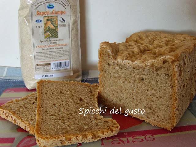 Pane con farina semintegrale