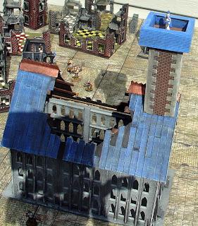 A little 15mm Mordheim WIP Temple+4