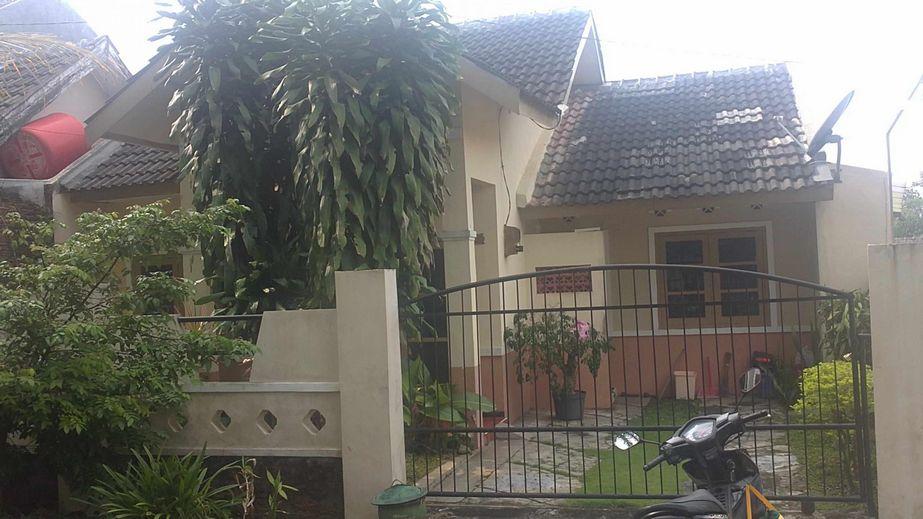 kreasi rumah type 45 asri dari depan