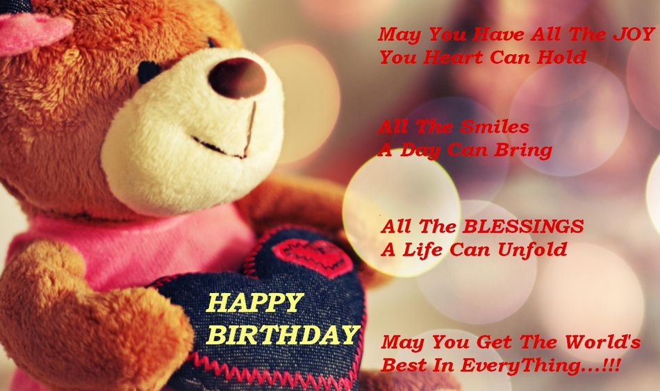 cute and romantic teddy for girlfriend, happy birthday my girlfriend images | cute and romantic happy birthday wishes for girlfriend