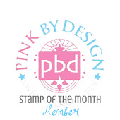Pink By Design Stamp of the Month Member