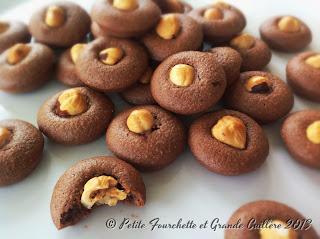 Bouchées moelleuses chocolat noisette, sans beurre et sans lactose
