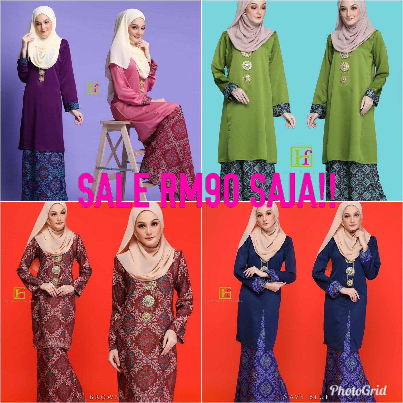 Sale! SALE SEMUANYA RM90 SAJA