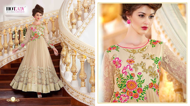 Mumtaaz – Georgette Fancy Pure Nakaashi Handwork Salwar Suit