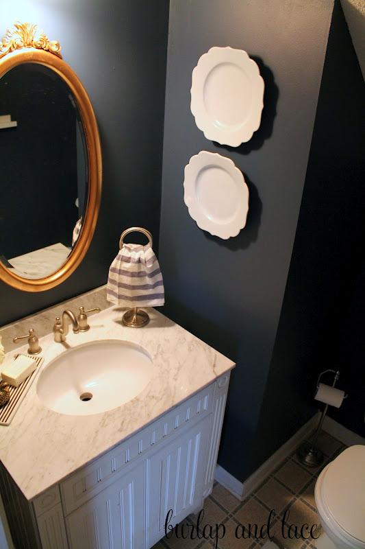 Half Bathroom ReMakeover Shannon Claire