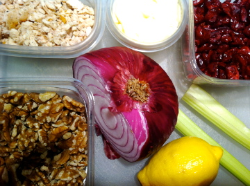 ... Weight Loss - Optimal Nutrition: LUNCH: CRANBERRY WALNUT CHICKEN SALAD