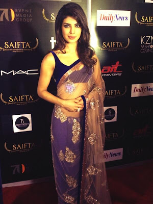 Priyanka Chopra Stunning on the red carpet at SAIFTA, Durban
