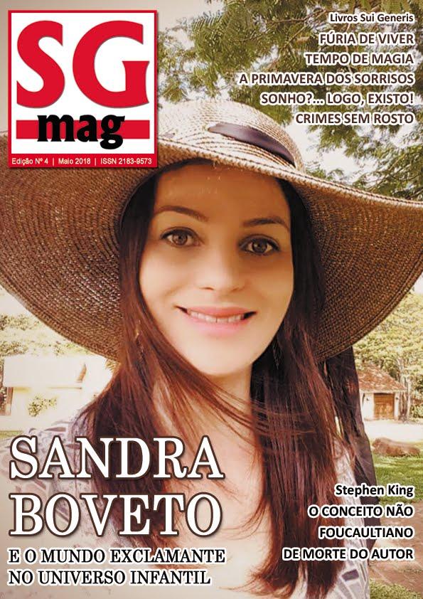 Dirigi e Editei o quarto número da revista SG MAG, com 256 páginas