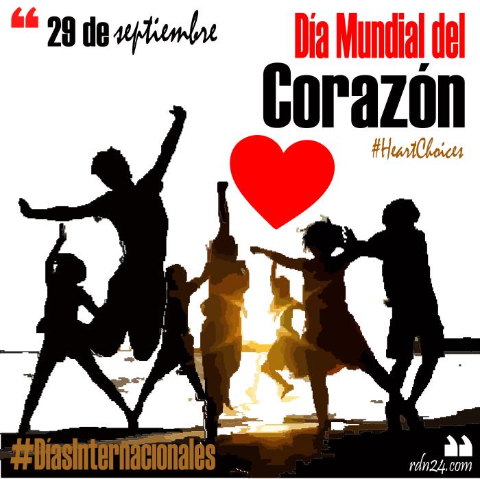 29 de septiembre – Día Mundial del Corazón #DíasInternacionales