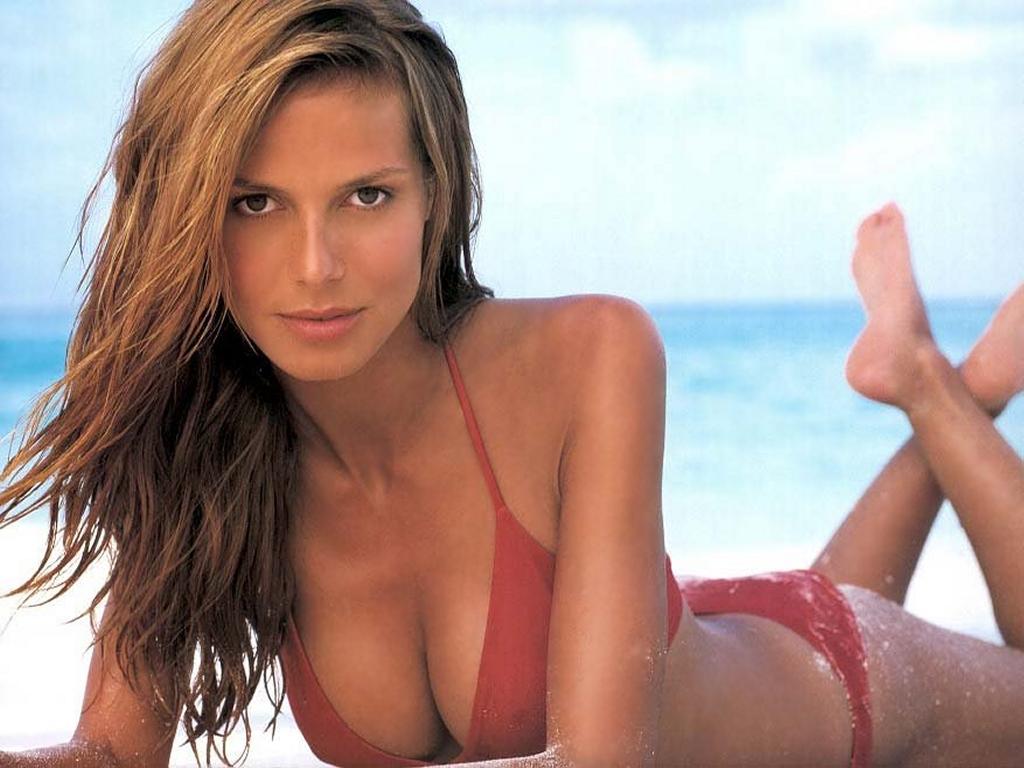 Heidi Klum bikini