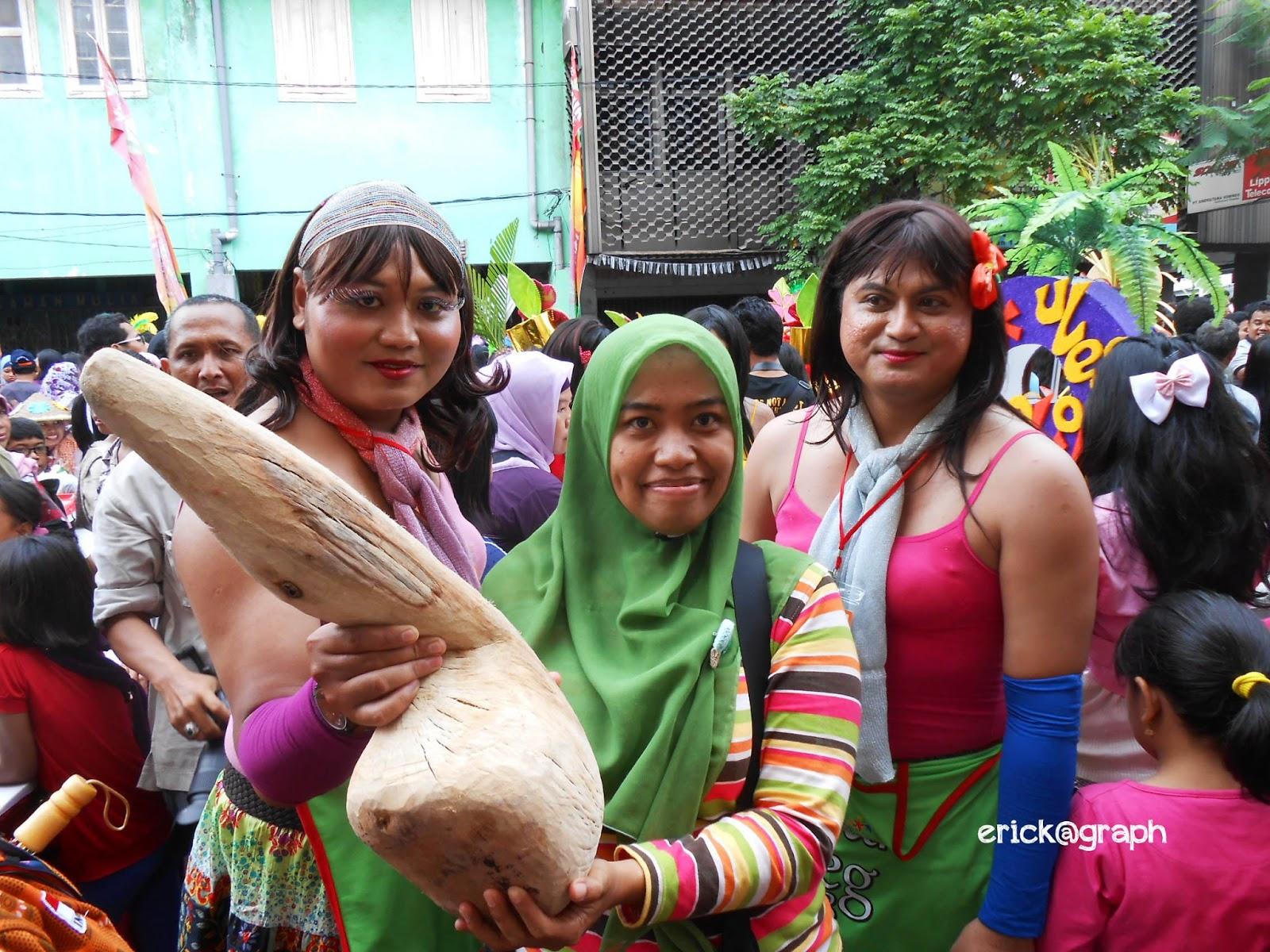 Festival Rujak Uleg Surabaya - Kembang Jepun