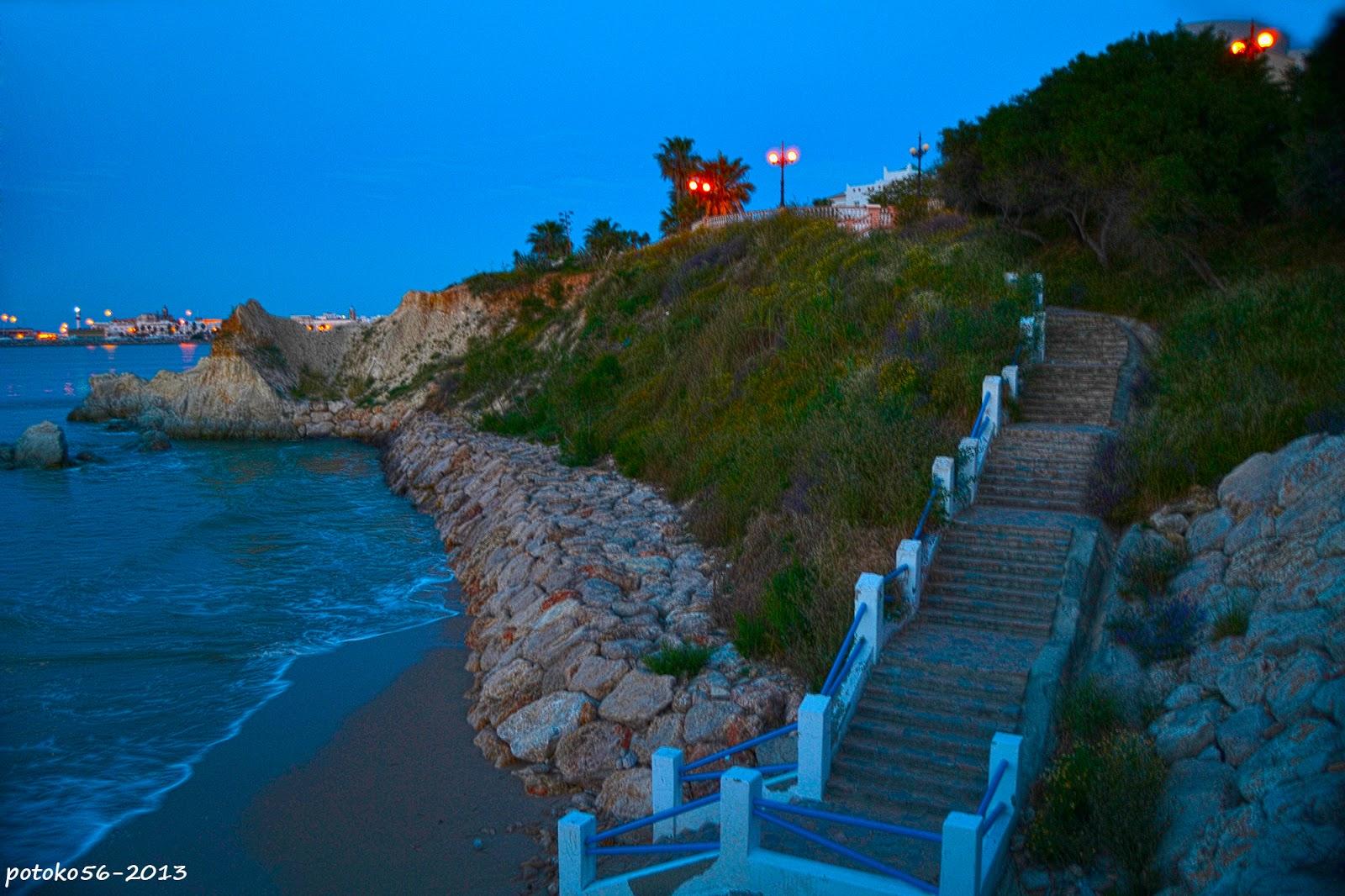 Una escalera a un paraiso Rota