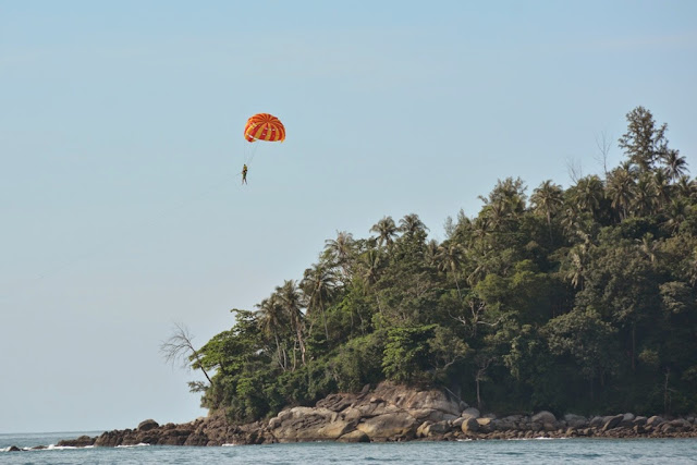 Kata Beach Phuket parasailing