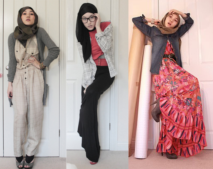 Sora fazilah fashion inspiration with hana tajima simpson Hijab fashion style hana tajima