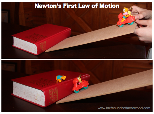 Half A Hundred Acre Wood Newton S Laws Of Motion Simplified