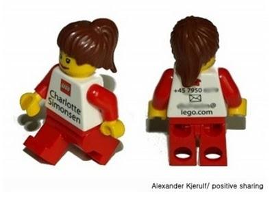 lego business card