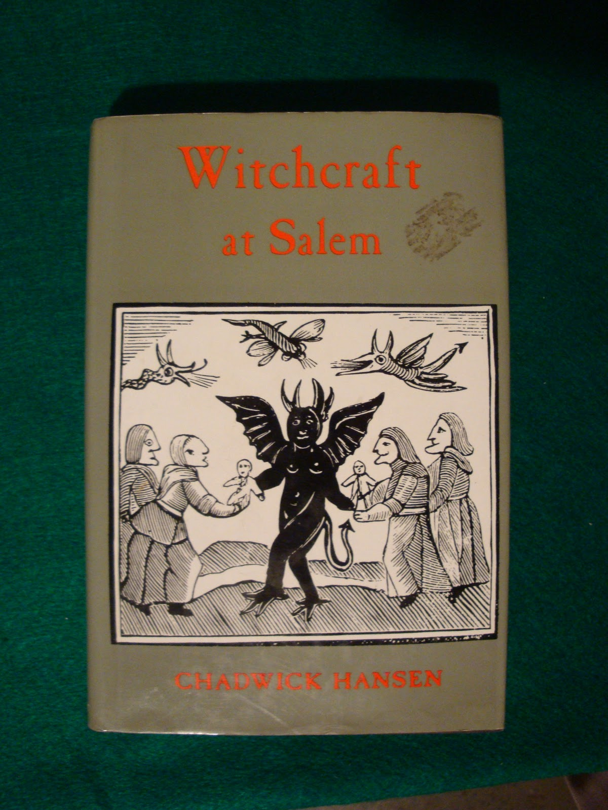 witchcraft at salem by chadwick hansen A gothic cabinet of curiosities and mysteries  duster was witchcraft at salem, by chadwick hansen  ma salem, massachusetts: the historical record and a salem.