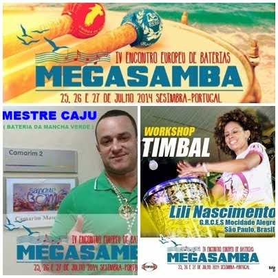 MEGA-SAMBA- SESIMBRA 2014