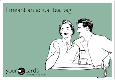 "Note: ""Tea bagger"" is NOT the same as ""tea party"""
