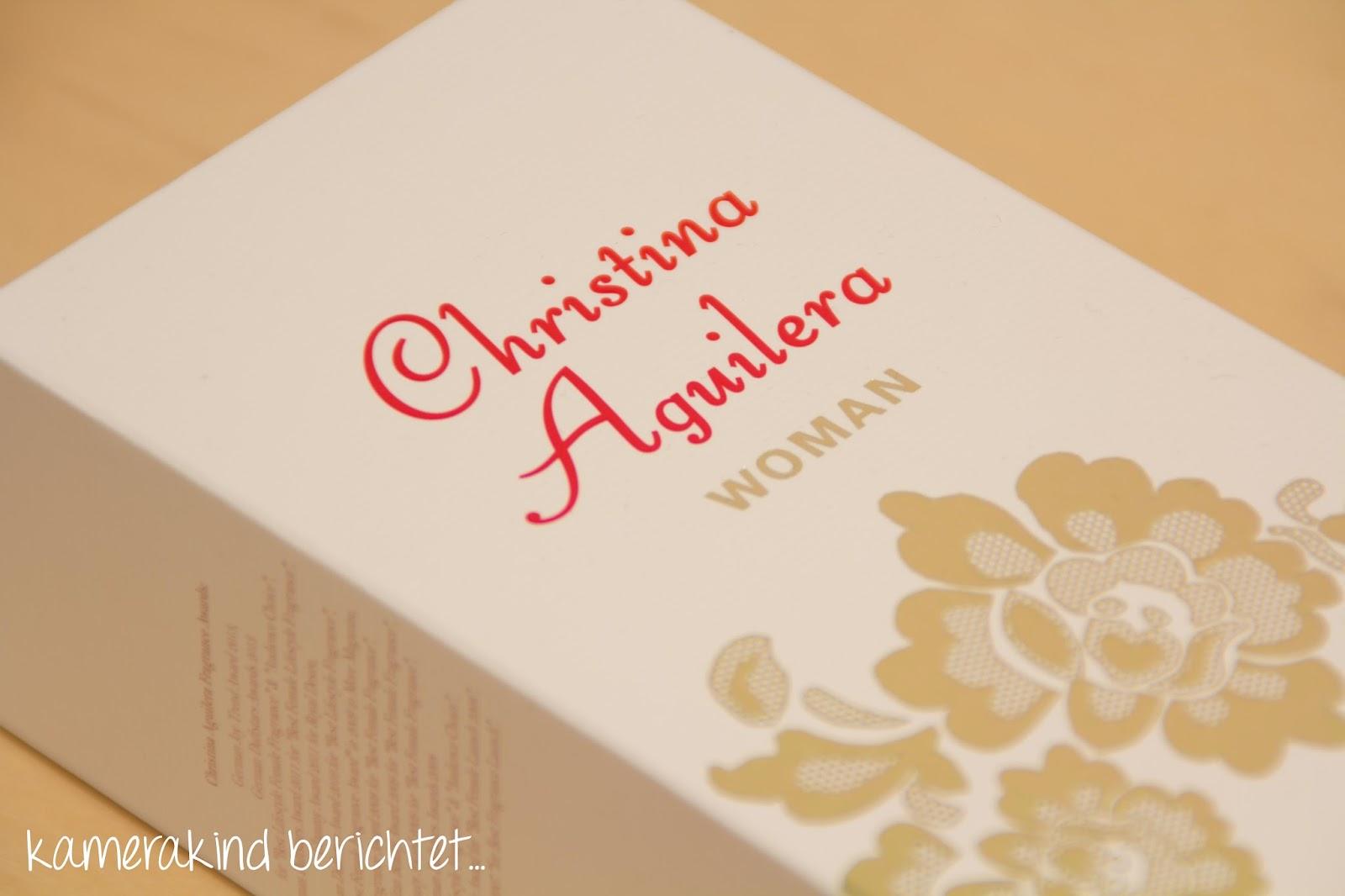 Verpackung Christina Aguilera Parfum Woman