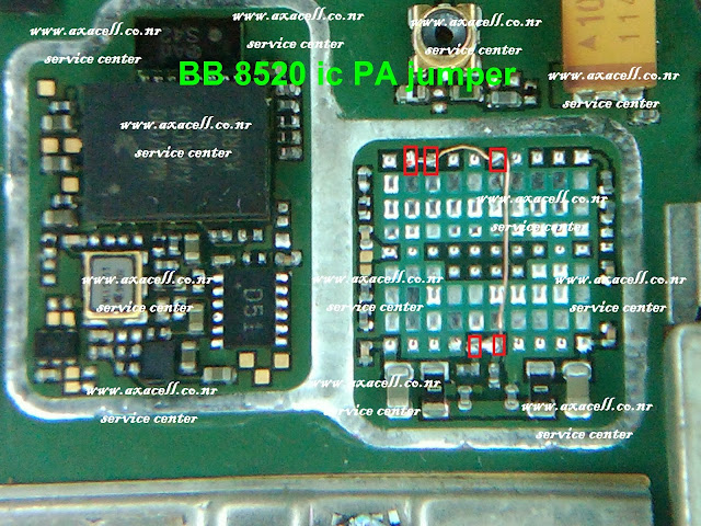 BLACKBERRY 8520 PA IC JUMPER 100 %TEST