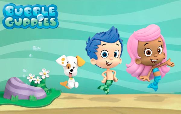 Bubble Guppies Cartoon Wallpaper