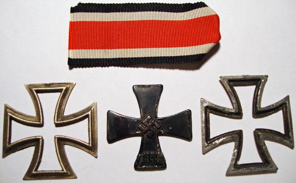 Cruz de hierro de Segunda clase 3 partes
